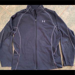 Under Armour fleece jacket, women's, size XL, EUC